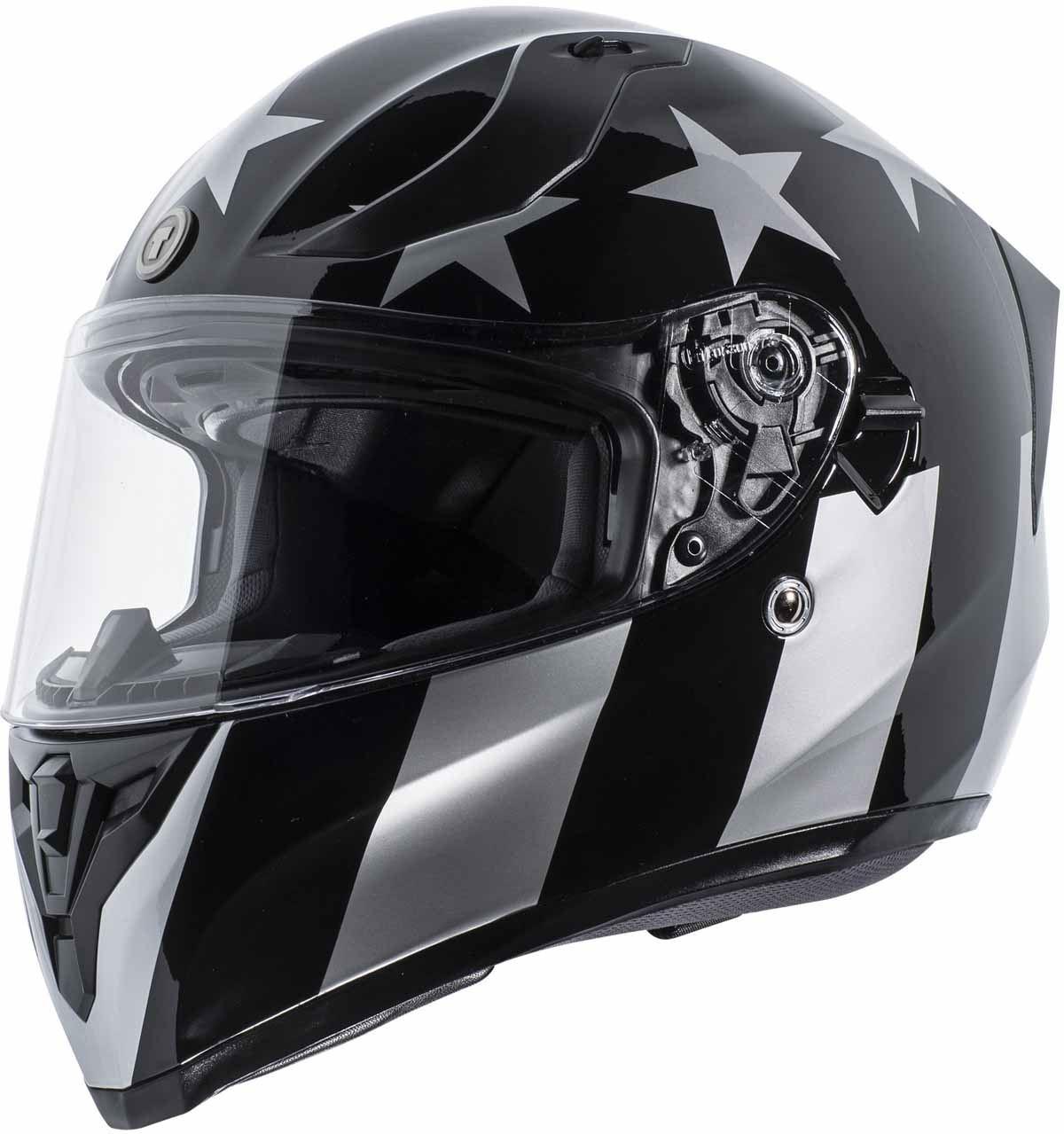 miniature 8 - Torc T15 T15B Helmet Bluetooth Blinc or without - Inner Sun Shield DOT XS-2XL