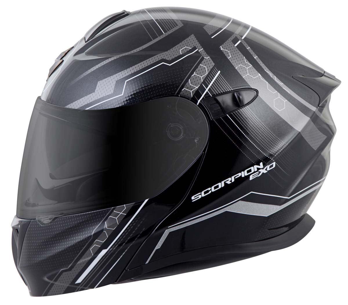 Scorpion-EXO-GT920-Helmet-Sport-Touring-Modular-Flip-Up-DOT-Approved-XS-3XL miniature 17