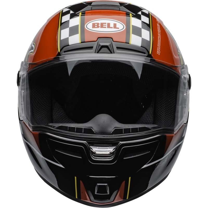 Bell-SRT-Helmet-Full-Face-Eyewear-Friendly-Fiberglass-DOT-SNELL-M2015-XS-2XL miniature 45
