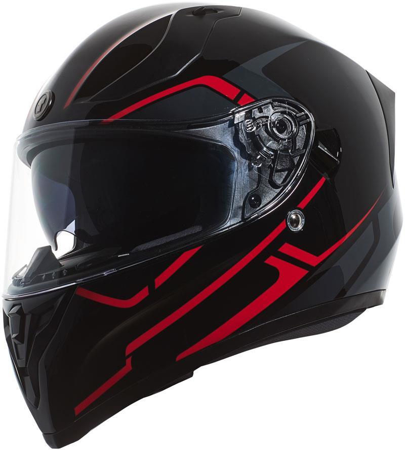 miniature 41 - Torc T15 T15B Helmet Bluetooth Blinc or without - Inner Sun Shield DOT XS-2XL