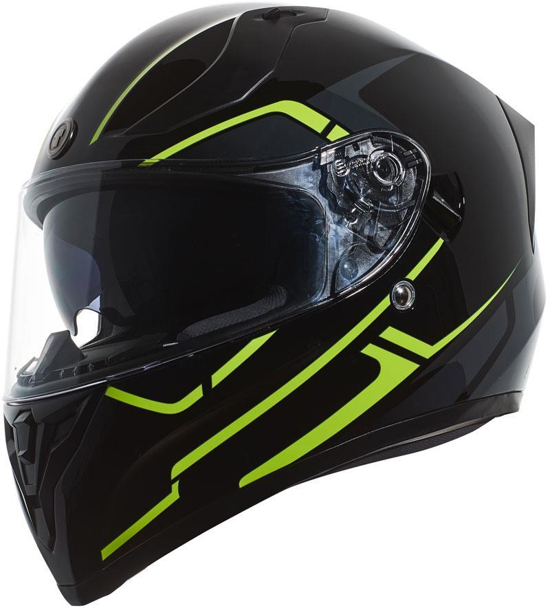miniature 49 - Torc T15 T15B Helmet Bluetooth Blinc or without - Inner Sun Shield DOT XS-2XL