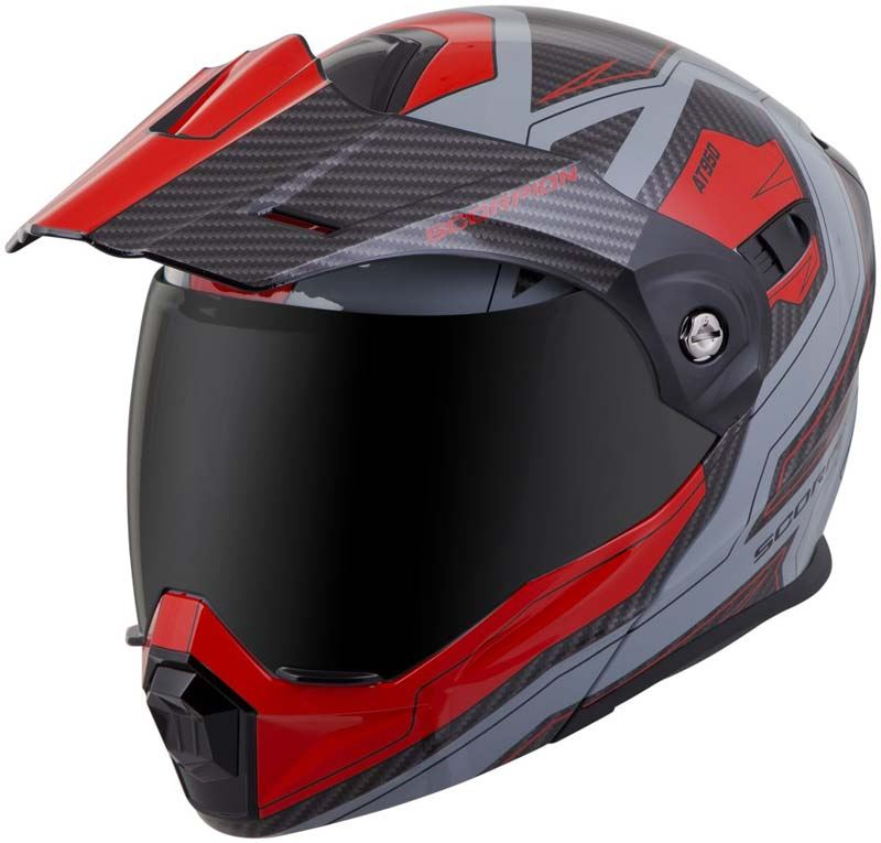Scorpion-EXO-AT950-Helmet-Flip-Up-Modular-Dual-Sport-Adventure-ADV-DOT-XS-3XL miniature 60