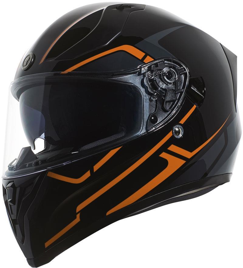 miniature 53 - Torc T15 T15B Helmet Bluetooth Blinc or without - Inner Sun Shield DOT XS-2XL