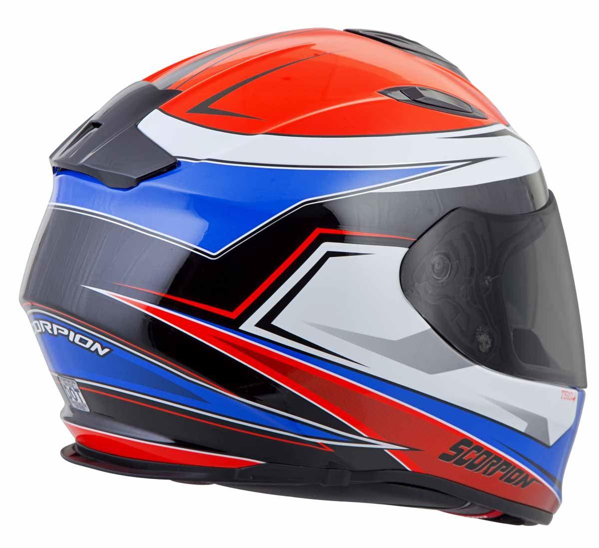 Scorpion-EXO-T510-Helmet-Full-Face-DOT-Approved-Inner-Sun-Shield miniature 35