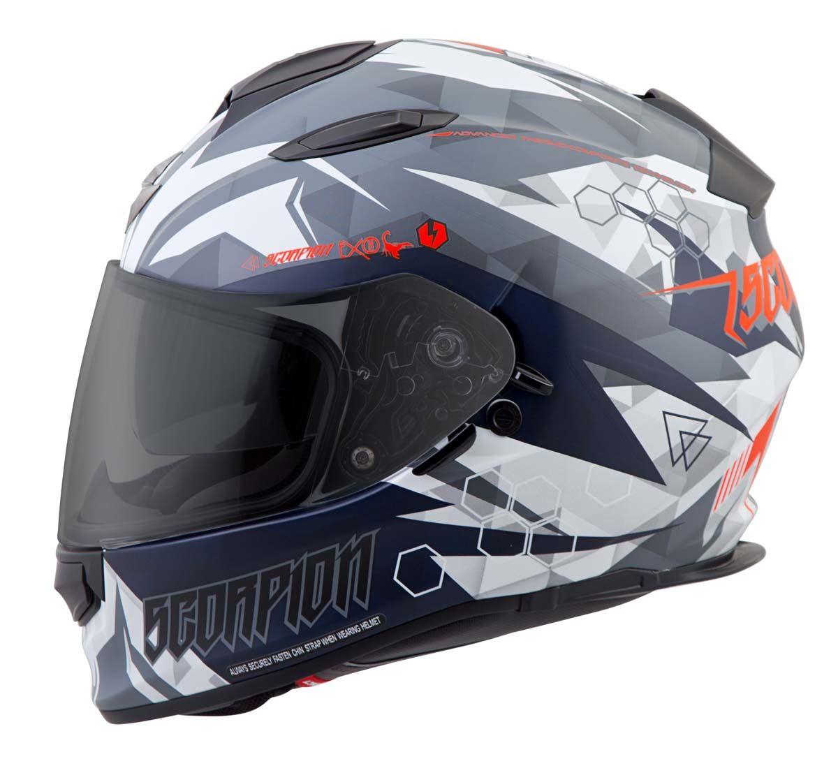 Scorpion-EXO-T510-Helmet-Full-Face-DOT-Approved-Inner-Sun-Shield miniature 50