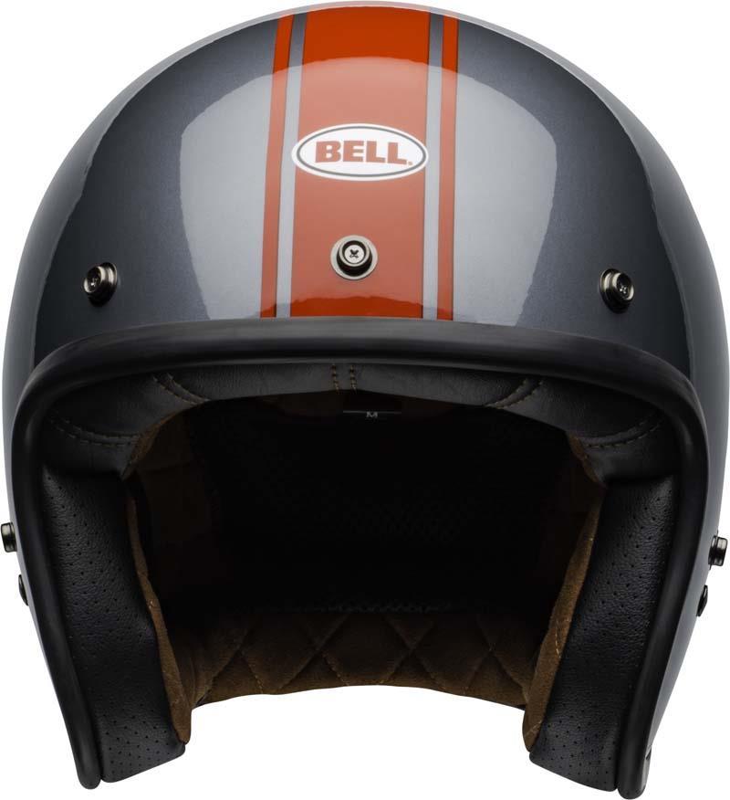 Bell-Custom-500-Helmet-3-4-Open-Face-Vintage-Retro-Motorcycle-5-Snap-XS-2XL miniature 59
