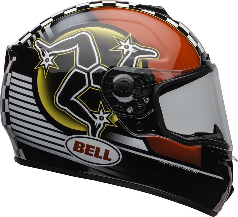 Bell-SRT-Helmet-Full-Face-Eyewear-Friendly-Fiberglass-DOT-SNELL-M2015-XS-2XL miniature 47