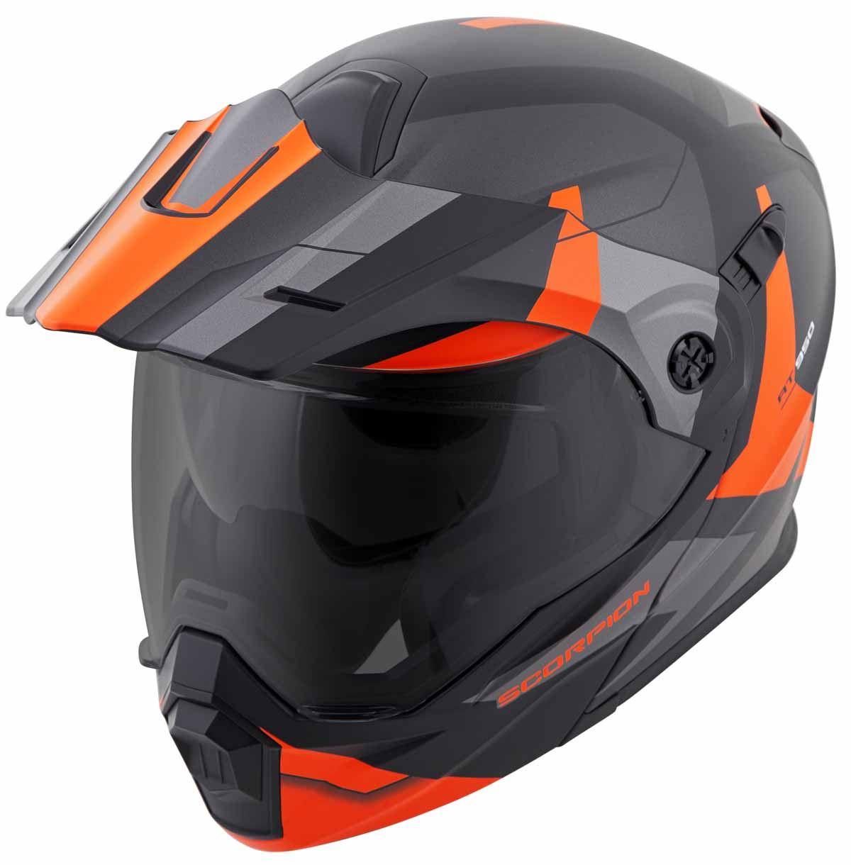 Scorpion-EXO-AT950-Helmet-Flip-Up-Modular-Dual-Sport-Adventure-ADV-DOT-XS-3XL miniature 53