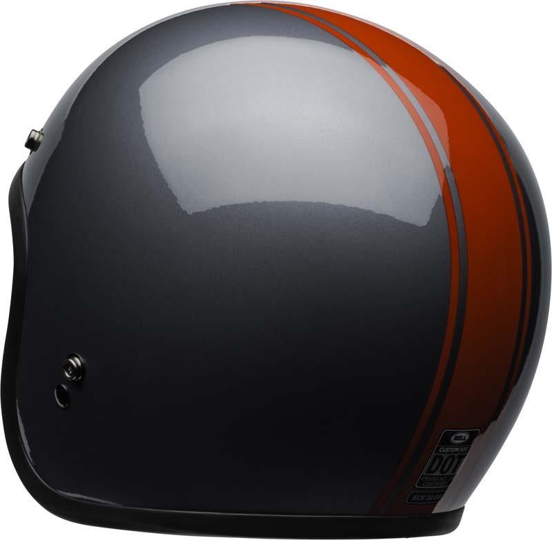 Bell-Custom-500-Helmet-3-4-Open-Face-Vintage-Retro-Motorcycle-5-Snap-XS-2XL miniature 61