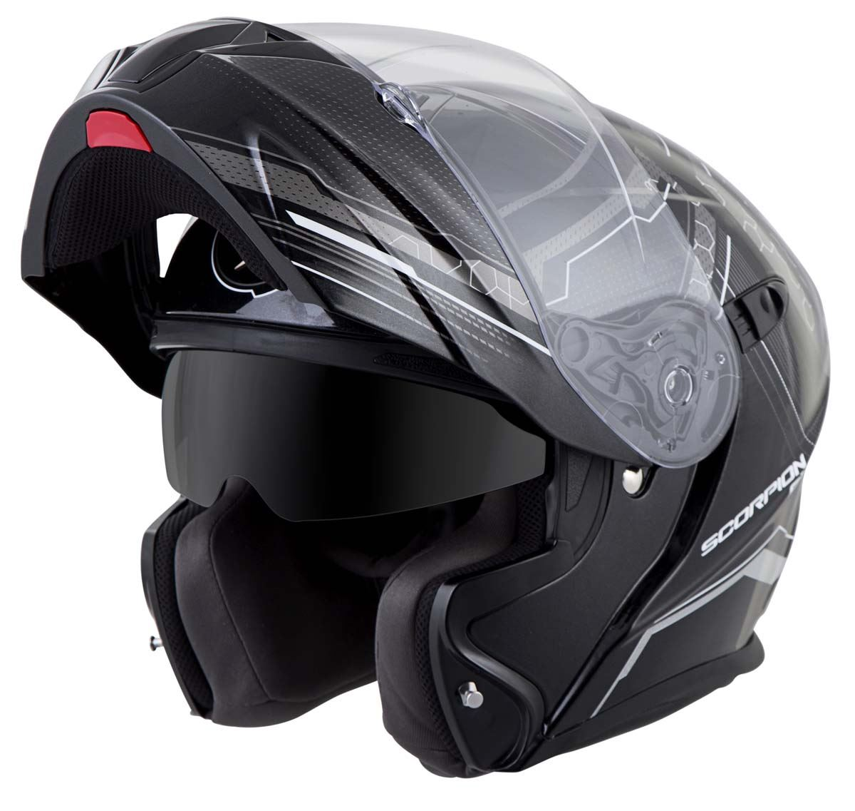 Scorpion-EXO-GT920-Helmet-Sport-Touring-Modular-Flip-Up-DOT-Approved-XS-3XL miniature 18