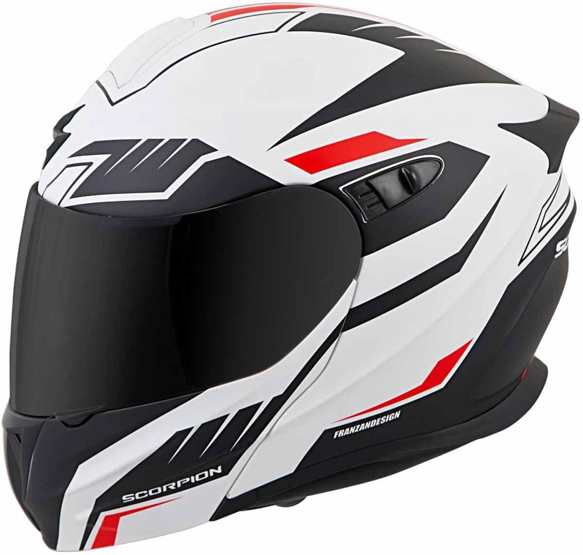 Scorpion-EXO-GT920-Helmet-Sport-Touring-Modular-Flip-Up-DOT-Approved-XS-3XL miniature 35