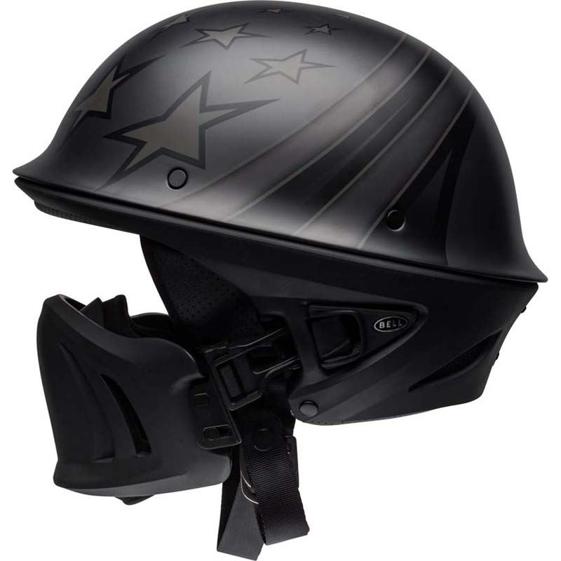 Bell-Rogue-Helmet-Muzzle-Open-Face-Speaker-Pockets-Motorcycle-DOT-2020-XS-2XL miniature 14