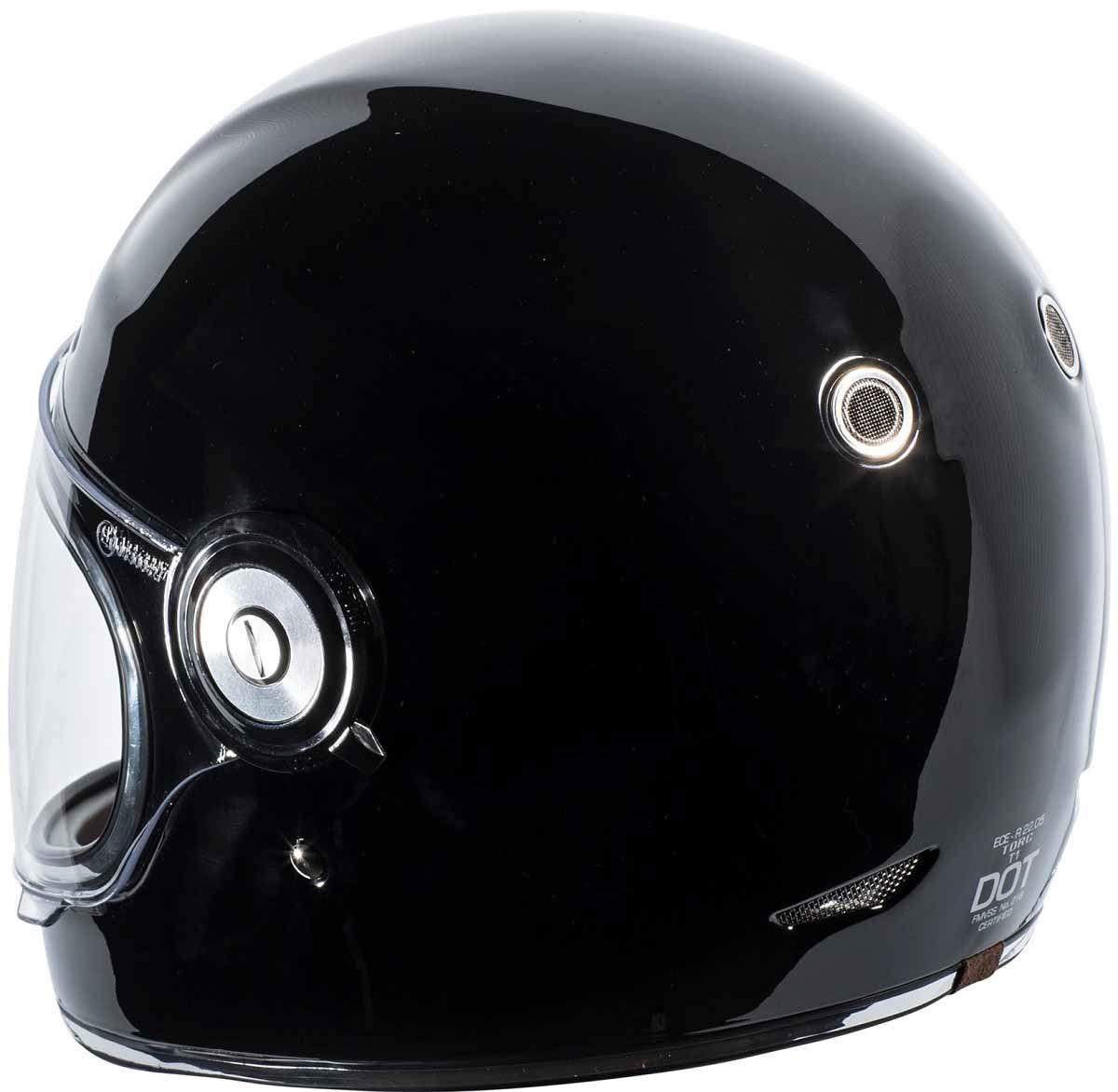 miniature 10 - Torc T1 Helmet Retro Vintage Style Fiberglass DOT Approved XS-2XL