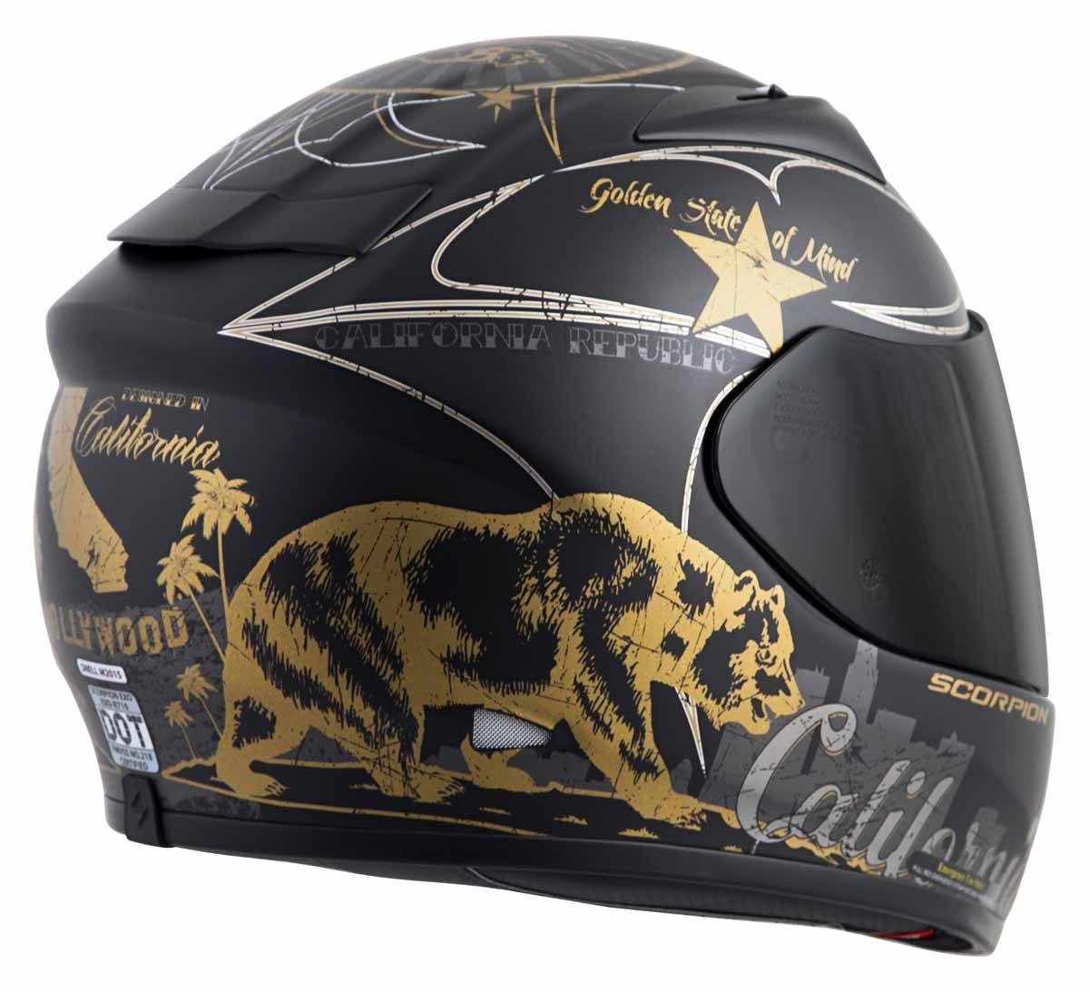 Scorpion-EXO-R710-Helmet-Fiberglass-Full-Face-DOT-SNELL-M2015-Certified-XS-2XL miniature 37