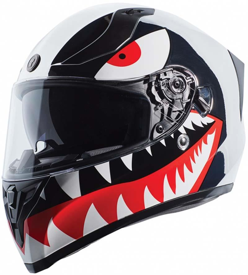 miniature 35 - Torc T15 T15B Helmet Bluetooth Blinc or without - Inner Sun Shield DOT XS-2XL