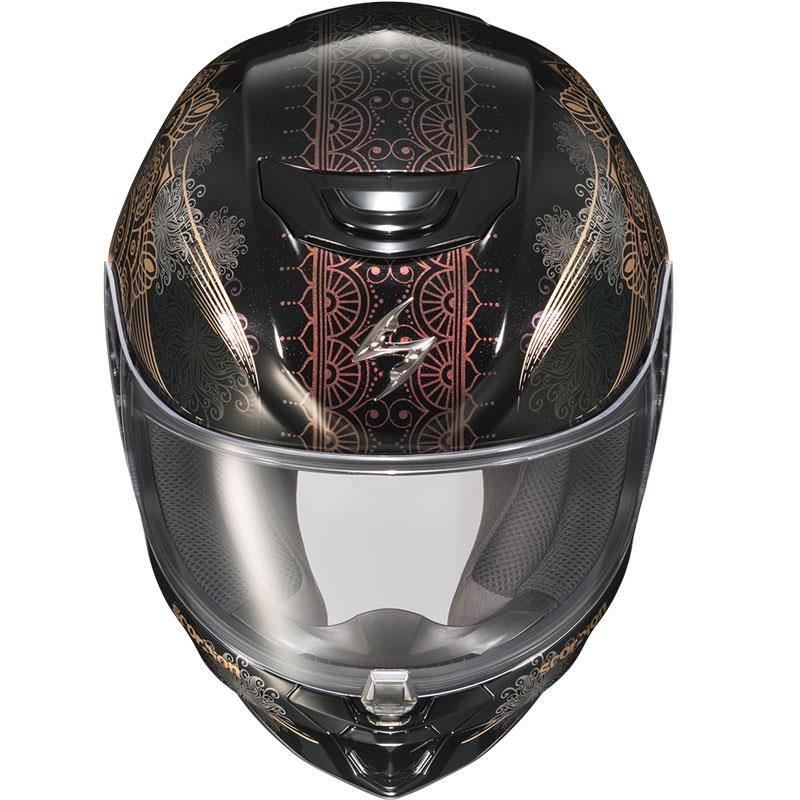 miniature 75 - Scorpion EXO-R420 Helmet Removable Liner Air Flow DOT SNELL M2015 XS-2XL