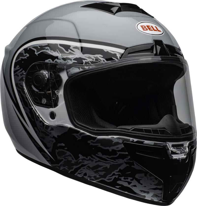 Bell-SRT-Helmet-Full-Face-Eyewear-Friendly-Fiberglass-DOT-SNELL-M2015-XS-2XL miniature 36