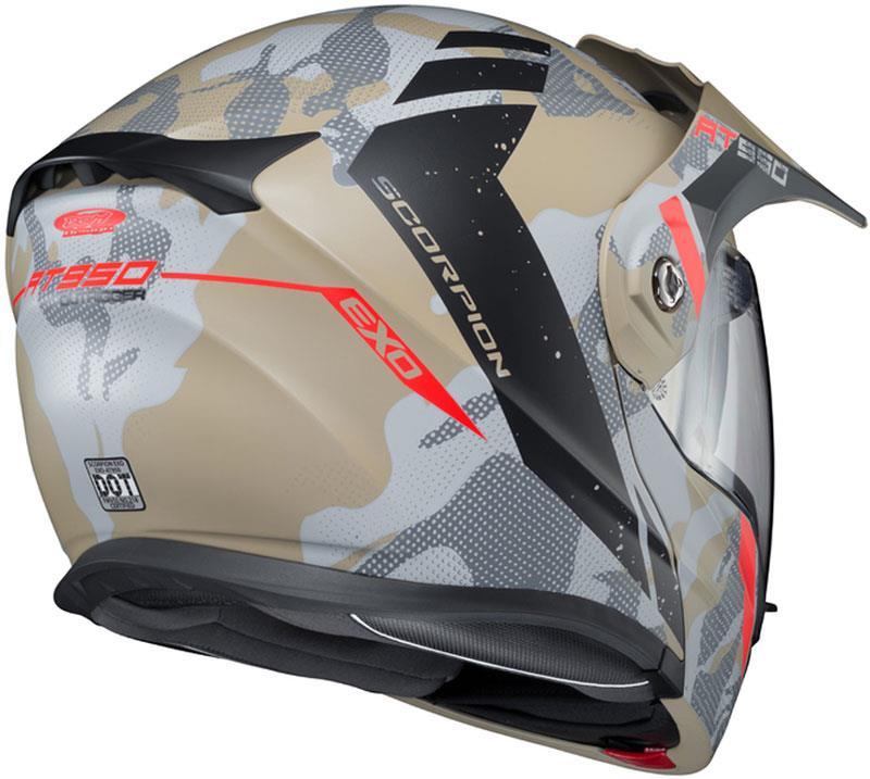 Scorpion-EXO-AT950-Helmet-Flip-Up-Modular-Dual-Sport-Adventure-ADV-DOT-XS-3XL miniature 90