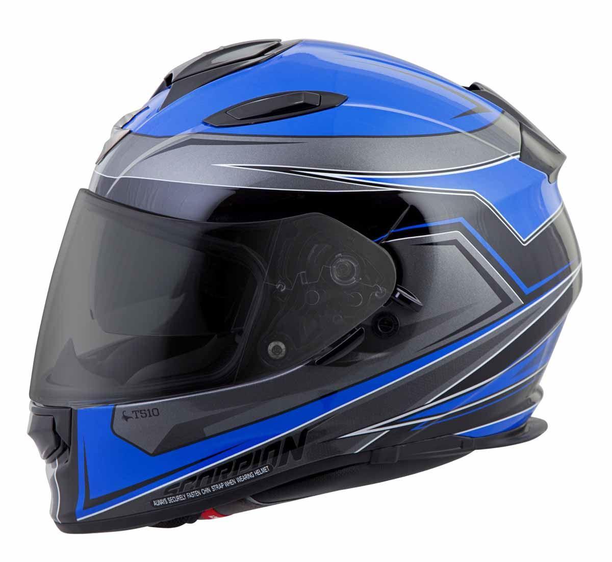 Scorpion-EXO-T510-Helmet-Full-Face-DOT-Approved-Inner-Sun-Shield miniature 27