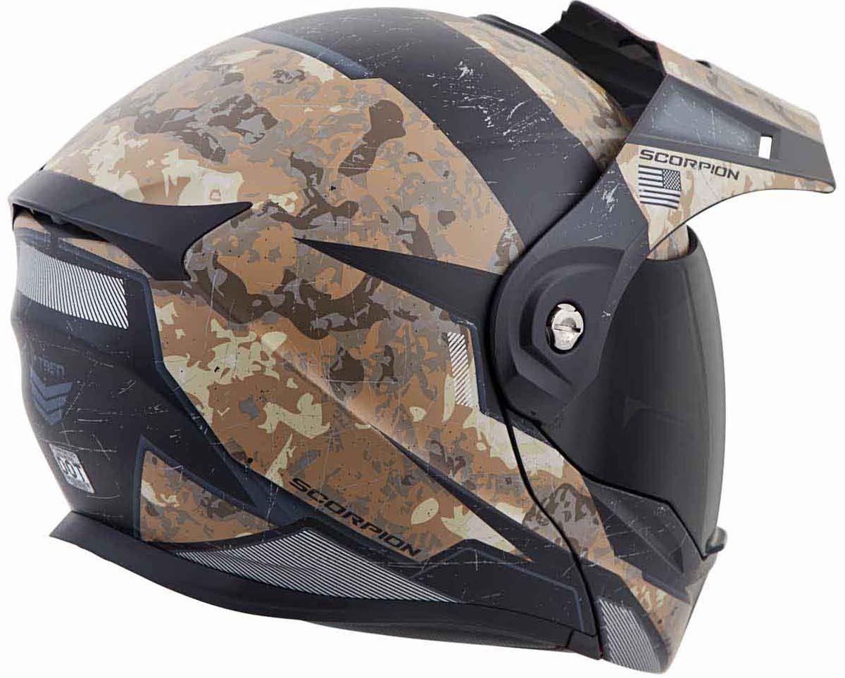 Scorpion-EXO-AT950-Helmet-Flip-Up-Modular-Dual-Sport-Adventure-ADV-DOT-XS-3XL miniature 58