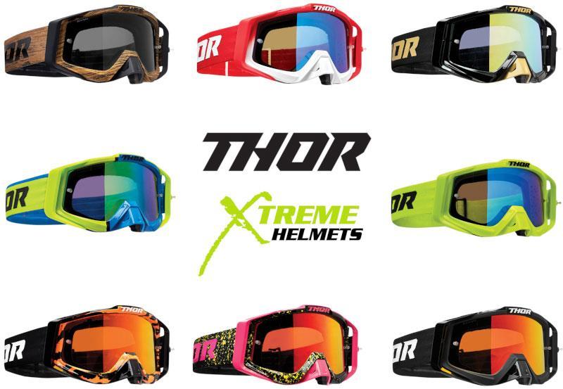 MX Motocross Dirtbike ATV Offroad UTV Thor Adult Sniper Dirtbike ATV Goggles