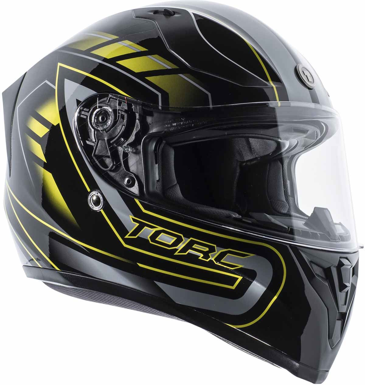 miniature 29 - Torc T15 T15B Helmet Bluetooth Blinc or without - Inner Sun Shield DOT XS-2XL