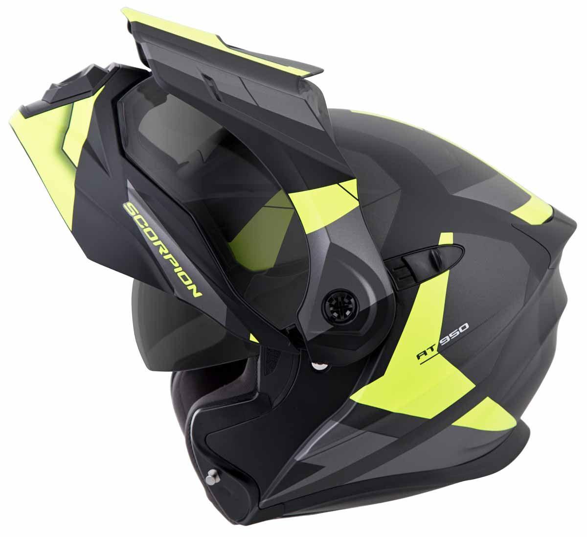 Scorpion-EXO-AT950-Helmet-Flip-Up-Modular-Dual-Sport-Adventure-ADV-DOT-XS-3XL miniature 37