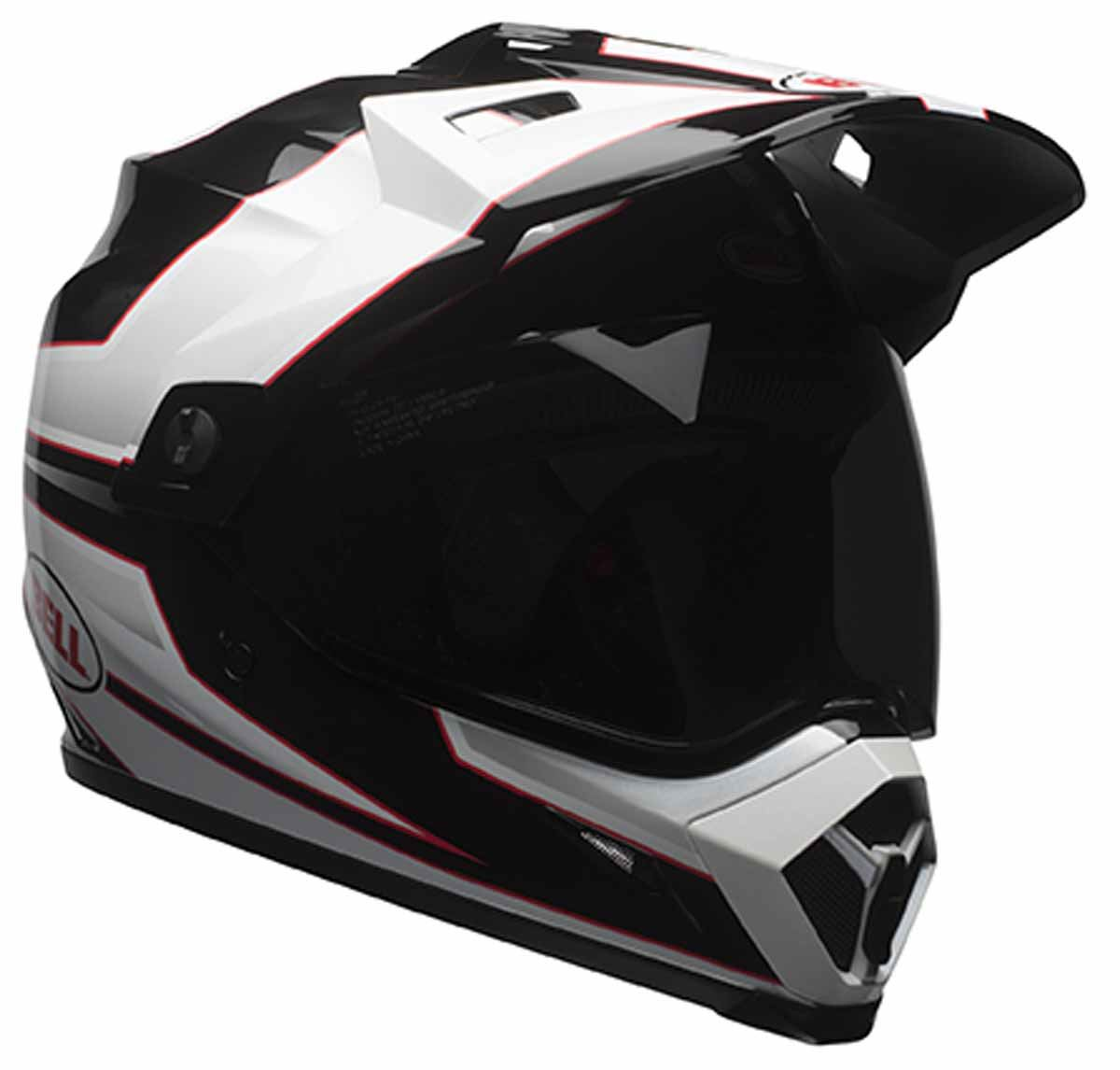 bell mx 9 adv helmet advernture dual sport dot washable anti bacterial liner ebay. Black Bedroom Furniture Sets. Home Design Ideas