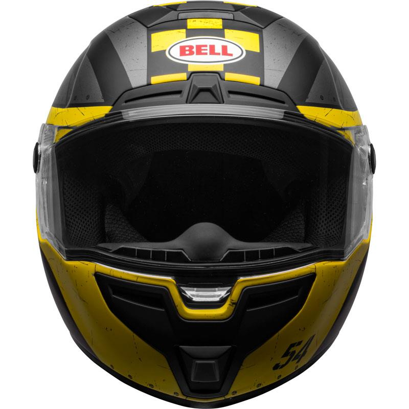 miniature 77 - Bell SRT Helmet Full Face Eyewear Friendly Fiberglass DOT SNELL M2015 XS-2XL