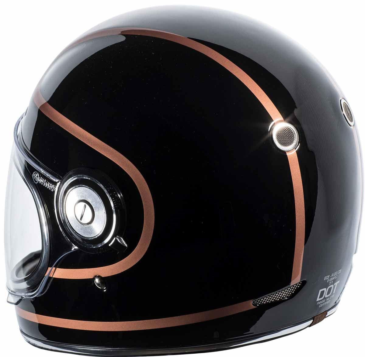 miniature 21 - Torc T1 Helmet Retro Vintage Style Fiberglass DOT Approved XS-2XL