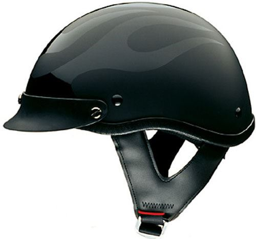 miniature 22 - HCI 100 Half Helmet Motorcycle Shorty with Visor DOT Approved XS S M L XL 2XL