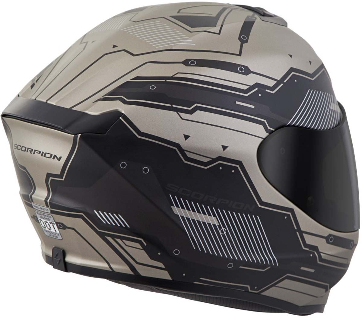 Scorpion-EXO-R420-Helmet-Removable-Liner-Air-Flow-DOT-SNELL-M2015-XS-2XL miniature 30