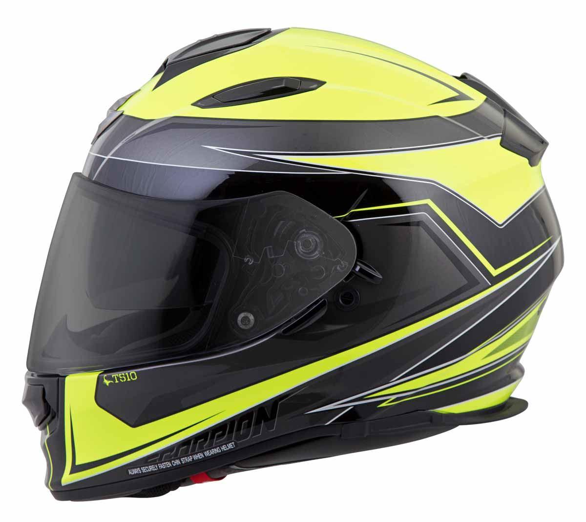 Scorpion-EXO-T510-Helmet-Full-Face-DOT-Approved-Inner-Sun-Shield miniature 38