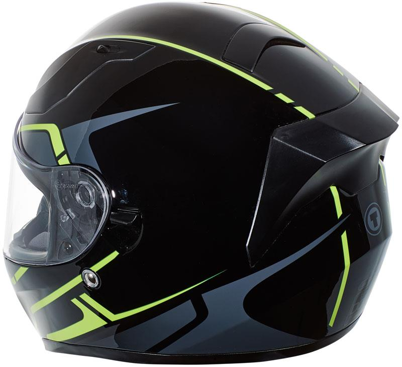 miniature 48 - Torc T15 T15B Helmet Bluetooth Blinc or without - Inner Sun Shield DOT XS-2XL