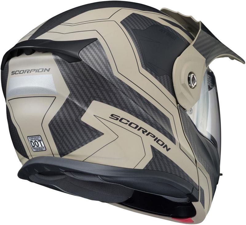 Scorpion-EXO-AT950-Helmet-Flip-Up-Modular-Dual-Sport-Adventure-ADV-DOT-XS-3XL miniature 85