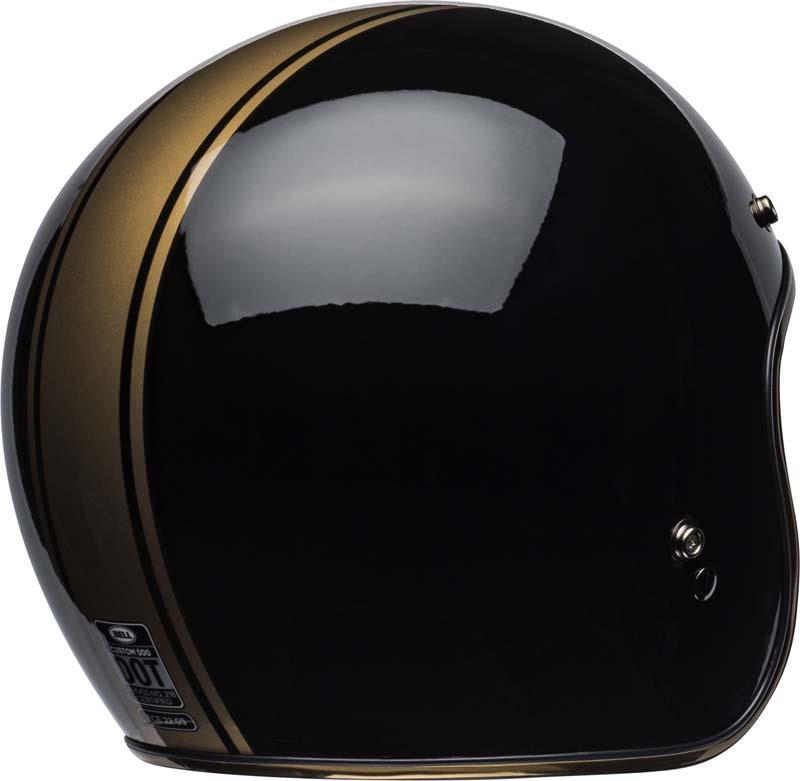 Bell-Custom-500-Helmet-3-4-Open-Face-Vintage-Retro-Motorcycle-5-Snap-XS-2XL miniature 55
