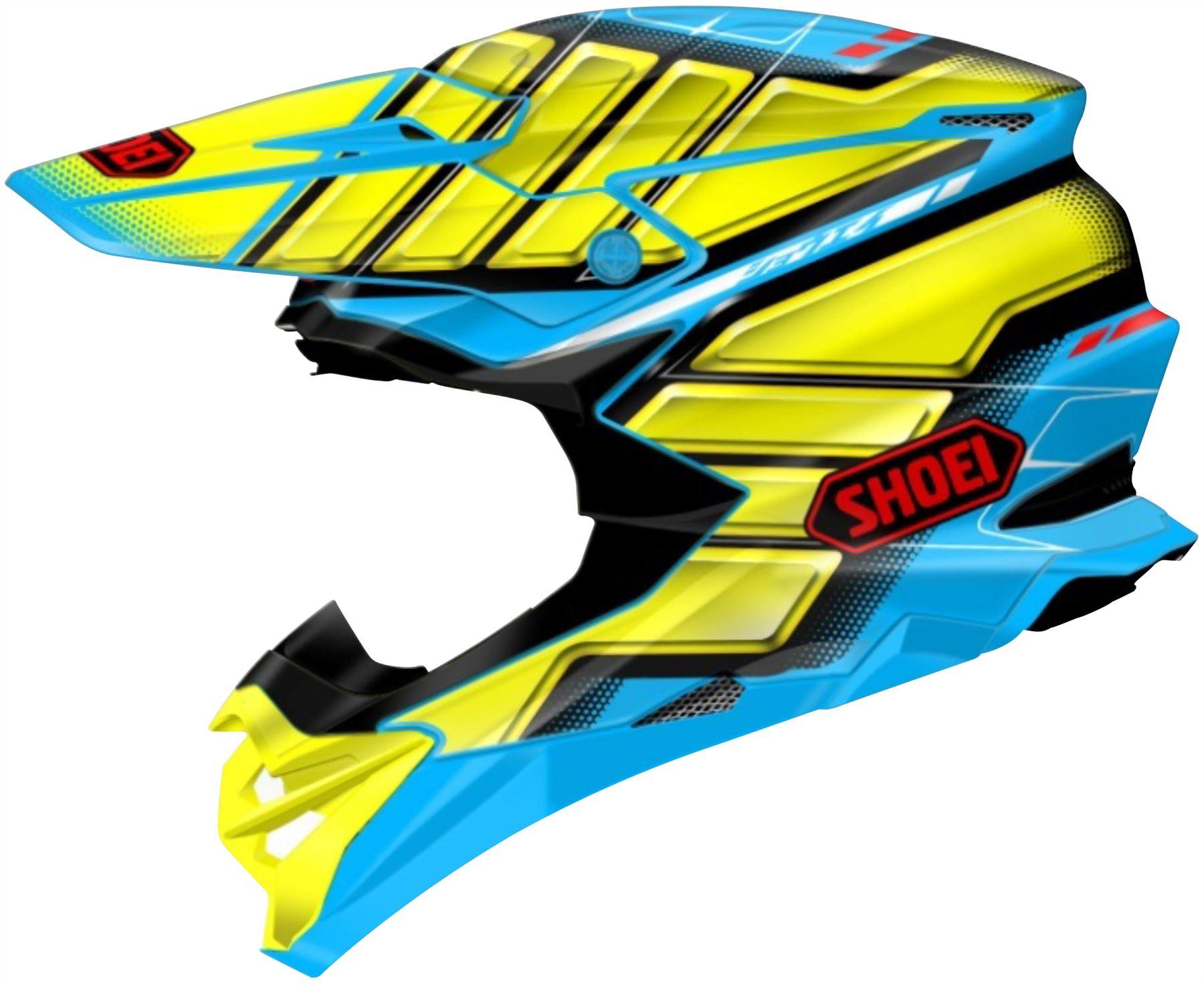 miniature 6 - Shoei VFX-EVO Helmet Off Road Full Face Lightweight DOT SNELL M2015 XS-2XL
