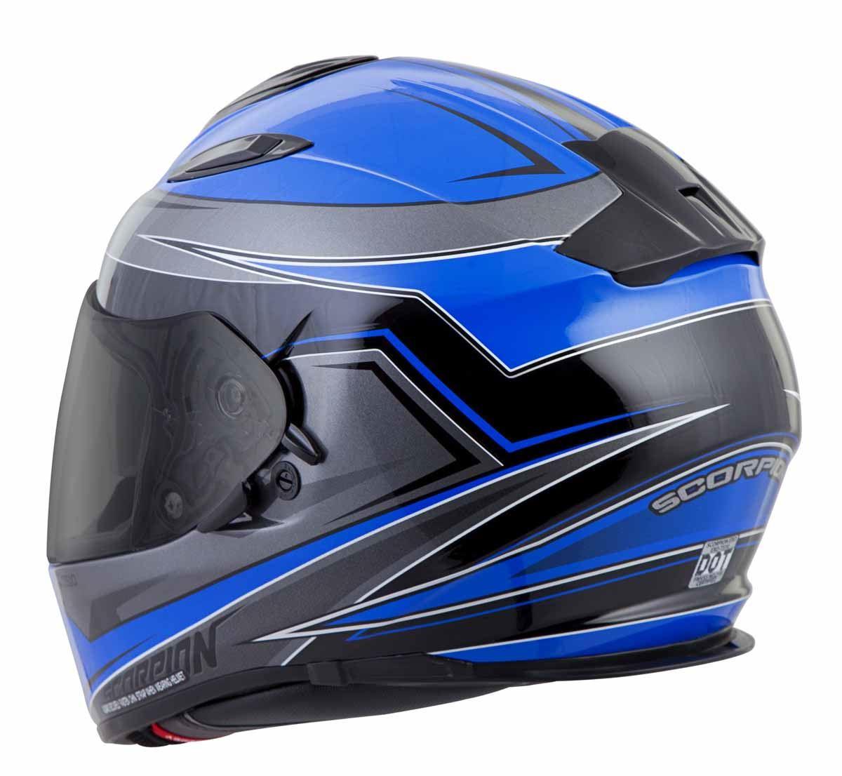 Scorpion-EXO-T510-Helmet-Full-Face-DOT-Approved-Inner-Sun-Shield miniature 28