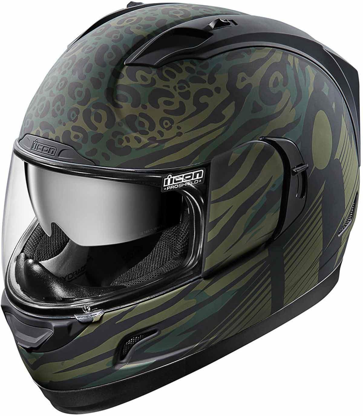 ICON-Alliance-GT-Helmet-Full-Face-Removable-Interior-Inner-Sunshield-XS-3XL