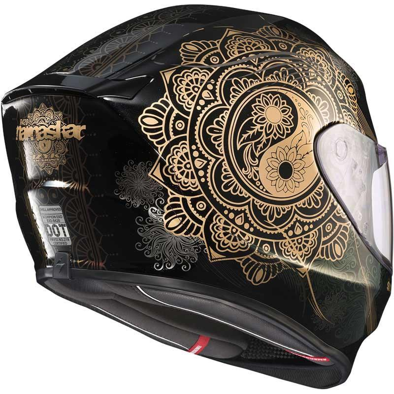 miniature 76 - Scorpion EXO-R420 Helmet Removable Liner Air Flow DOT SNELL M2015 XS-2XL