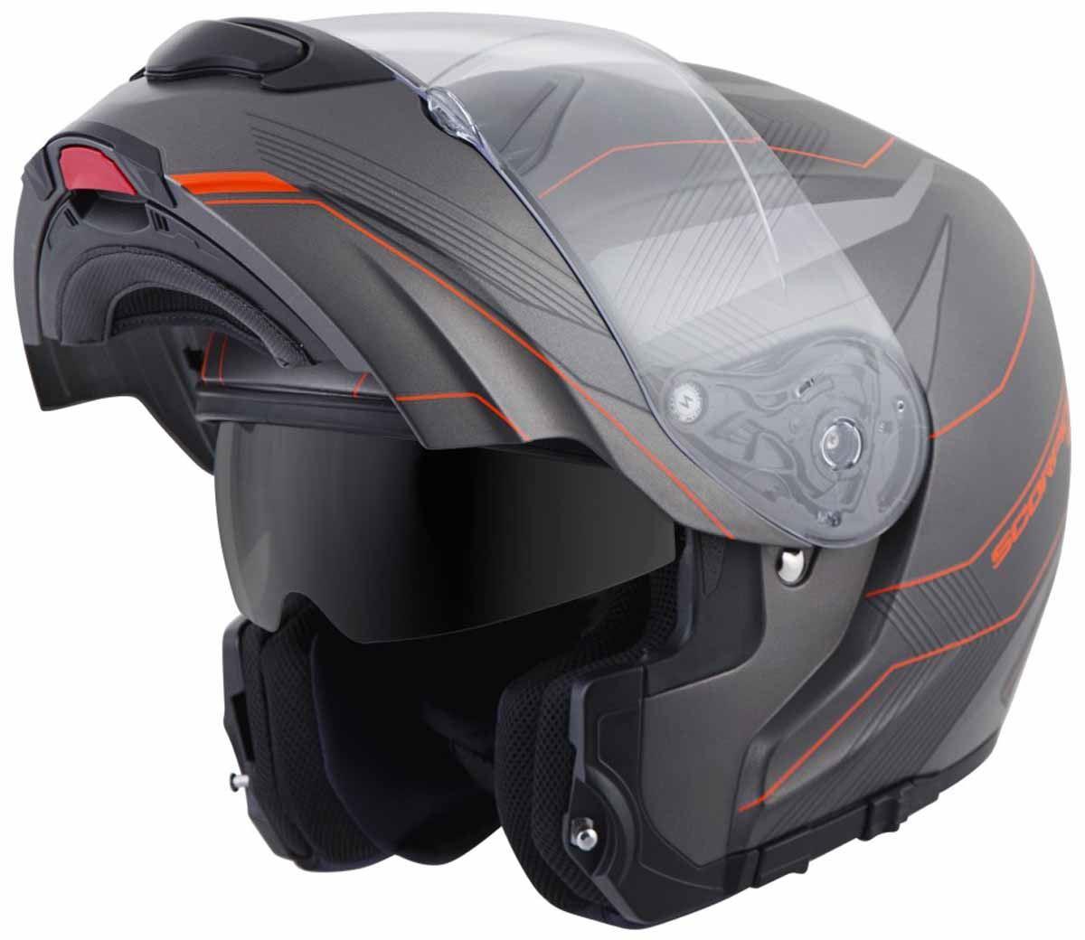 Scorpion-EXO-GT3000-Helmet-Modular-Flip-Up-Premium-DOT-Approved-XS-2XL miniature 21