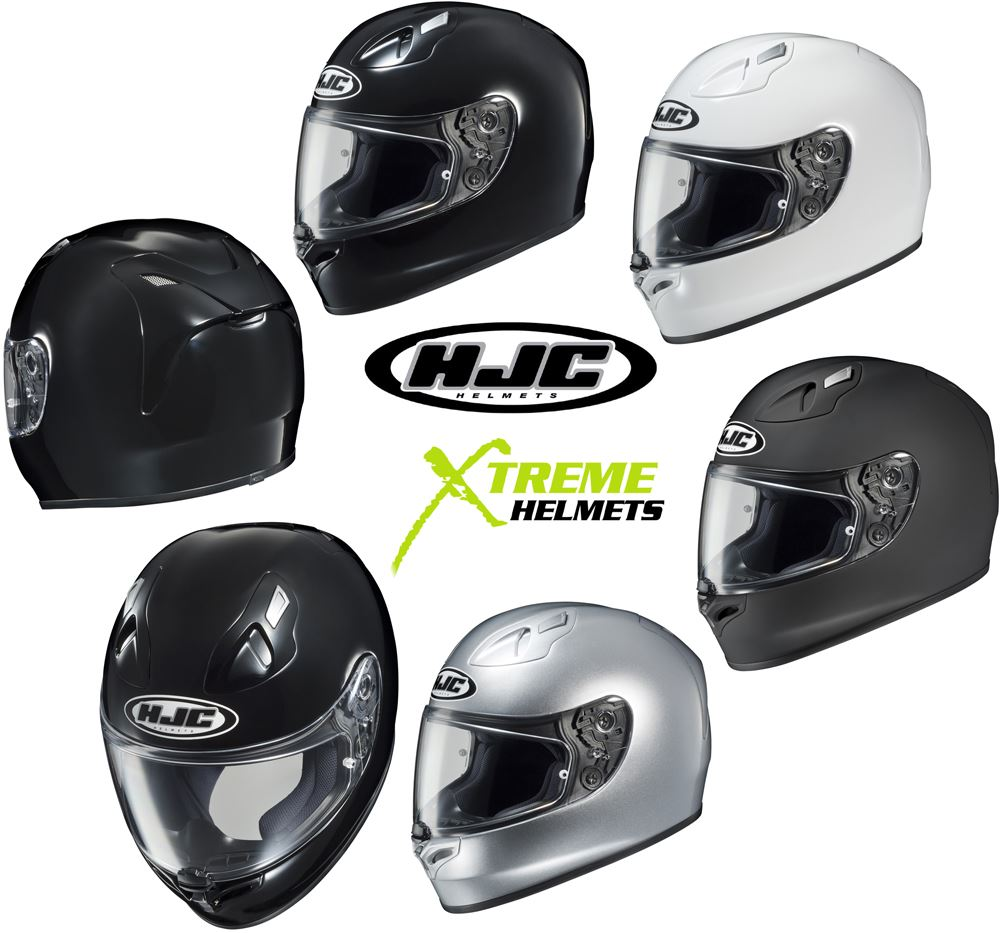 Hjc Fg 17 >> Details About Hjc Fg 17 Full Face Motorcycle Helmet Snell Dot Solids Xs S M L Xl 2xl 3xl