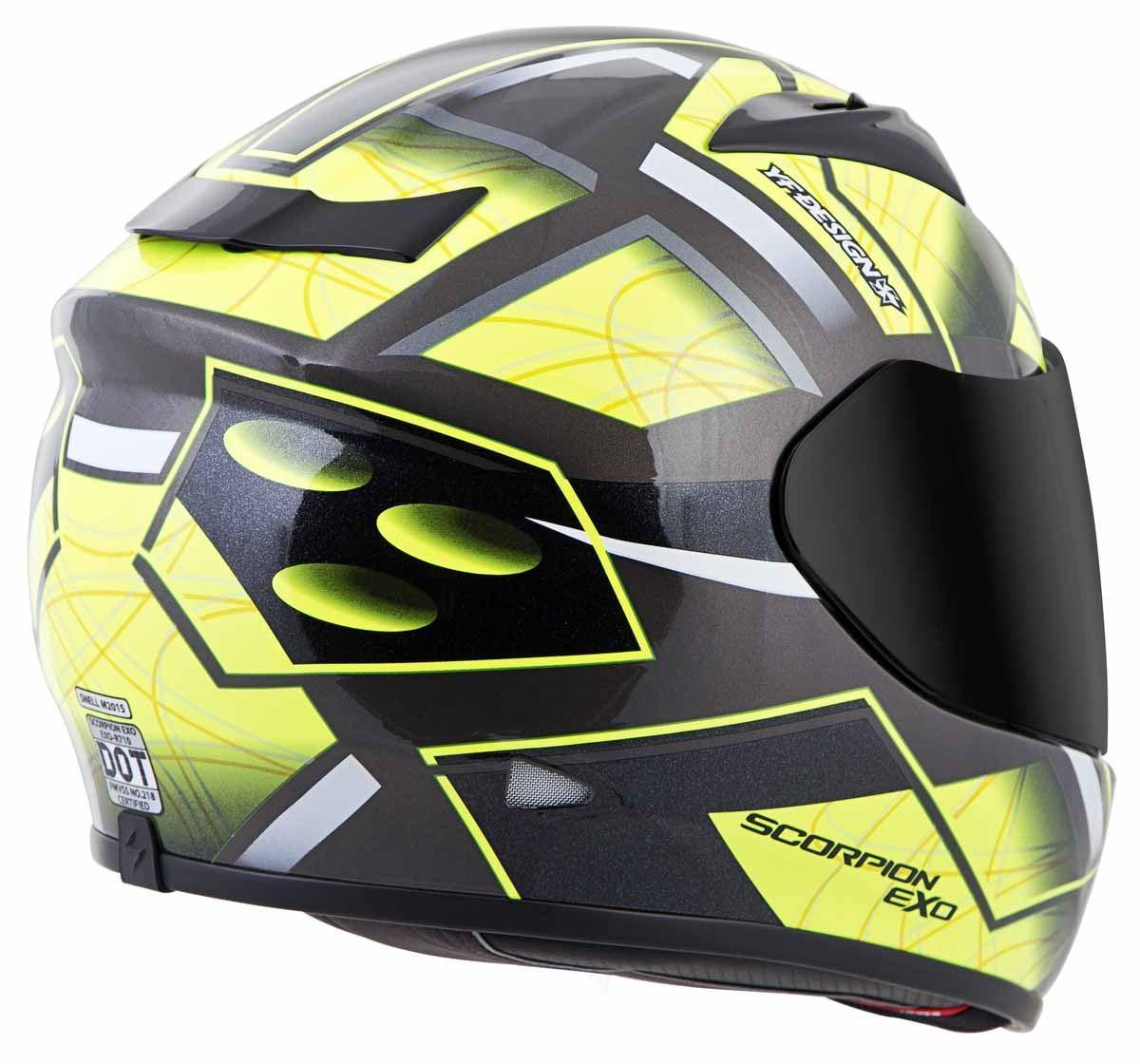 Scorpion-EXO-R710-Helmet-Fiberglass-Full-Face-DOT-SNELL-M2015-Certified-XS-2XL miniature 26