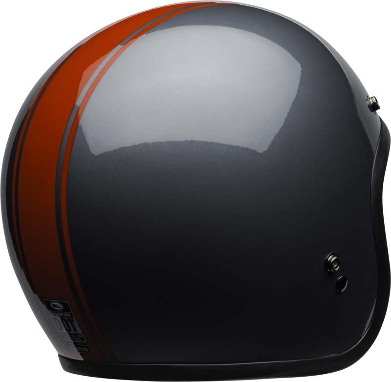 Bell-Custom-500-Helmet-3-4-Open-Face-Vintage-Retro-Motorcycle-5-Snap-XS-2XL miniature 62