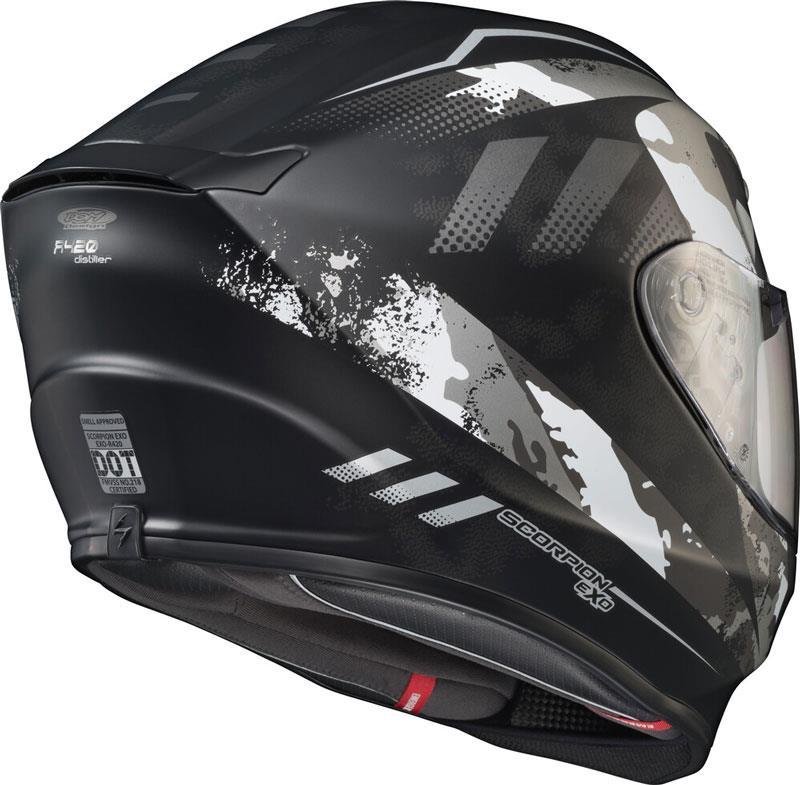 miniature 68 - Scorpion EXO-R420 Helmet Removable Liner Air Flow DOT SNELL M2015 XS-2XL