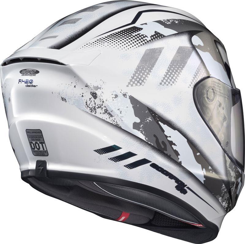 miniature 70 - Scorpion EXO-R420 Helmet Removable Liner Air Flow DOT SNELL M2015 XS-2XL