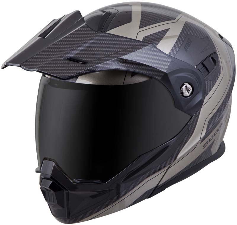 Scorpion-EXO-AT950-Helmet-Flip-Up-Modular-Dual-Sport-Adventure-ADV-DOT-XS-3XL miniature 66