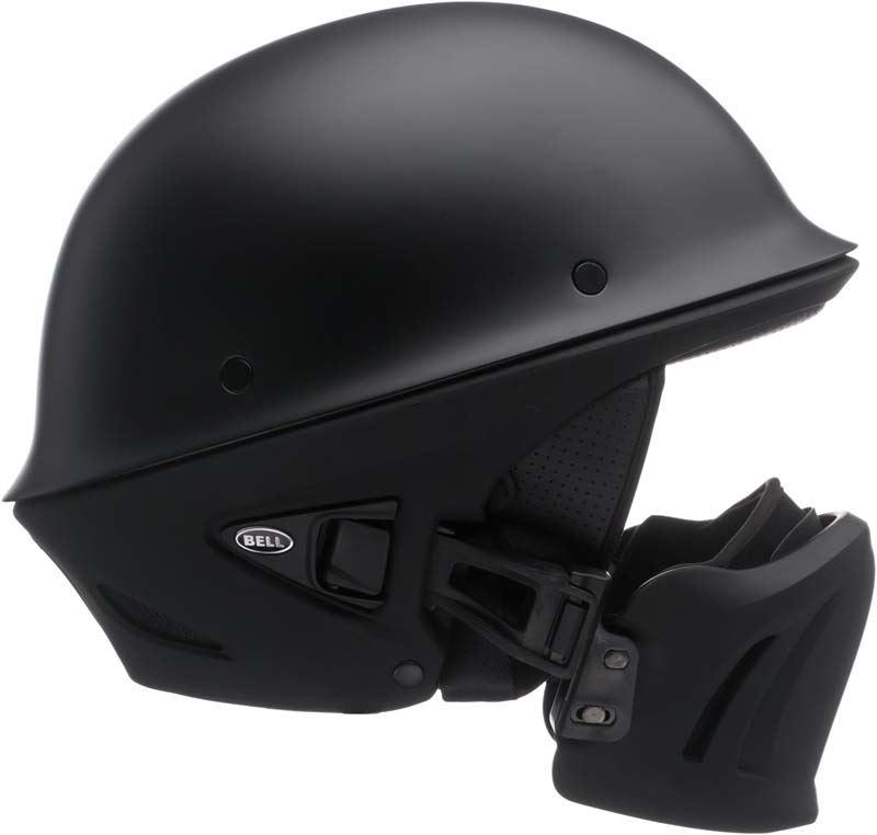 Bell-Rogue-Helmet-Muzzle-Open-Face-Speaker-Pockets-Motorcycle-DOT-2020-XS-2XL miniature 6