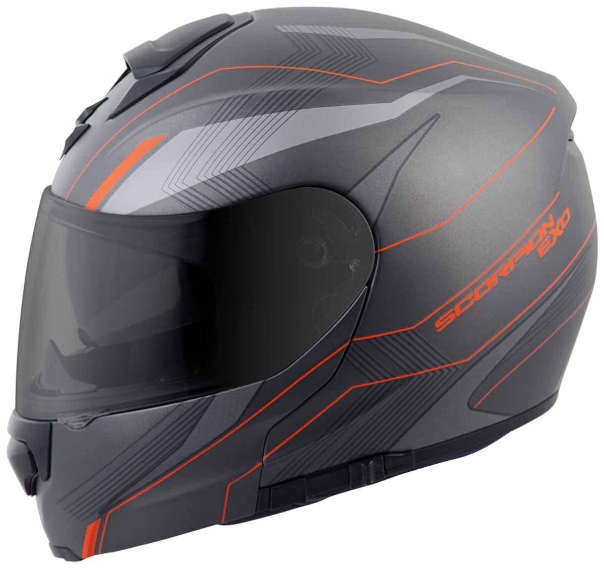 Scorpion-EXO-GT3000-Helmet-Modular-Flip-Up-Premium-DOT-Approved-XS-2XL miniature 22
