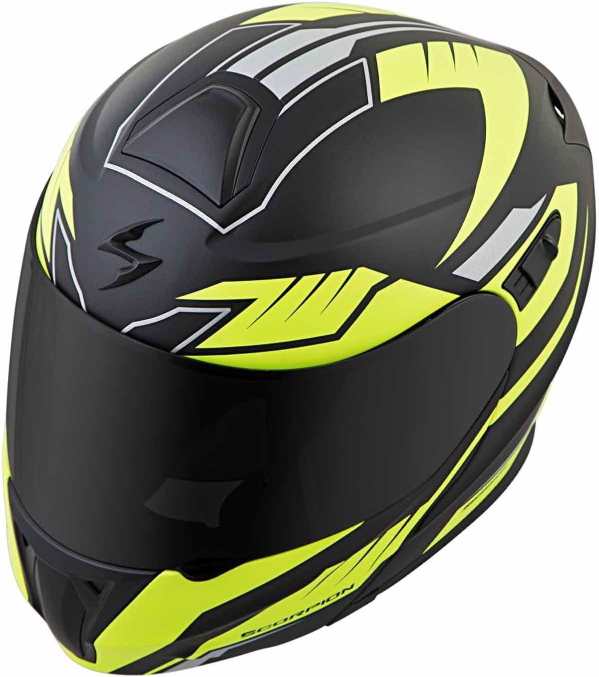 Scorpion-EXO-GT920-Helmet-Sport-Touring-Modular-Flip-Up-DOT-Approved-XS-3XL miniature 44